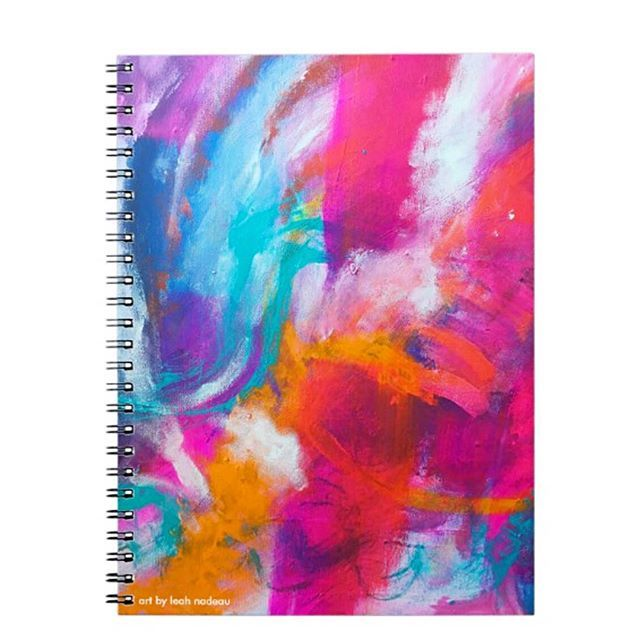 Gorgeous notebooks for sale by artist- get them for yourself to doodle or take notes in- or maybe a gift for mom! 🛒 comment below to reserve or DM me ❤️ . . . . . . . . . . . . . . . . . #contemporaryart #abstractart #instashop #popupsh