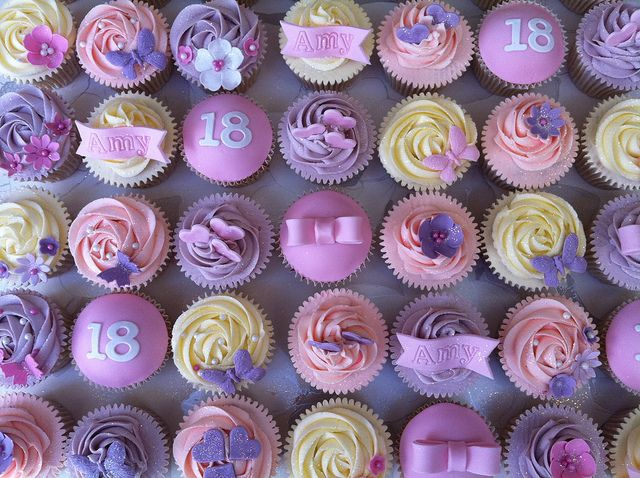 Birthday+Cupcakes+for+Girls | Recent Photos The Commons Getty Collection Galleries World Map App ...