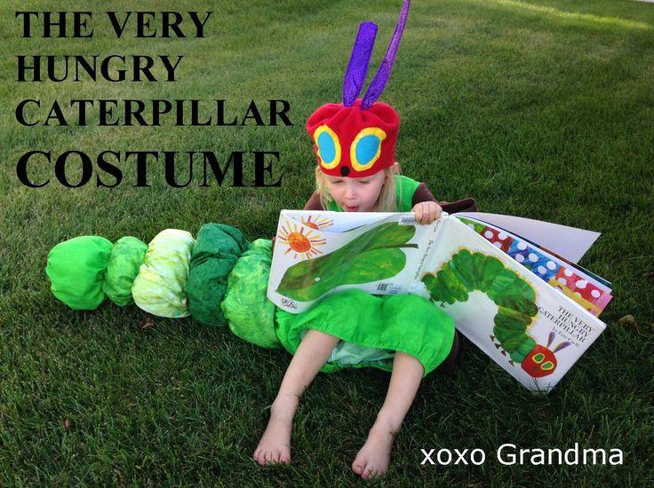 xoxo Grandma: The Very Hungry Caterpillar Costume