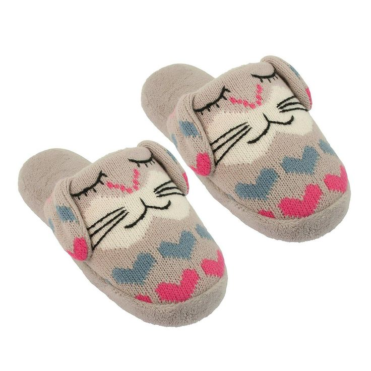 Ladies Aroma Home Rabbit Knitted Animal Slippers - https://www.fruugo.co.uk/ladies-aroma-home-rabbit-knitted-animal-slippers/p-4489912