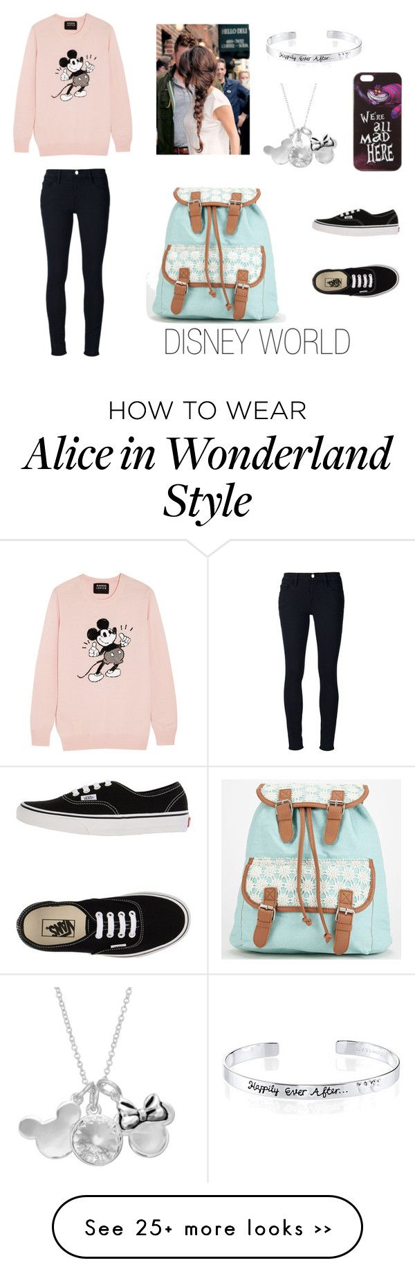 """""""Cute Disney World Outfit"""" by ehpiphany on Polyvore"""