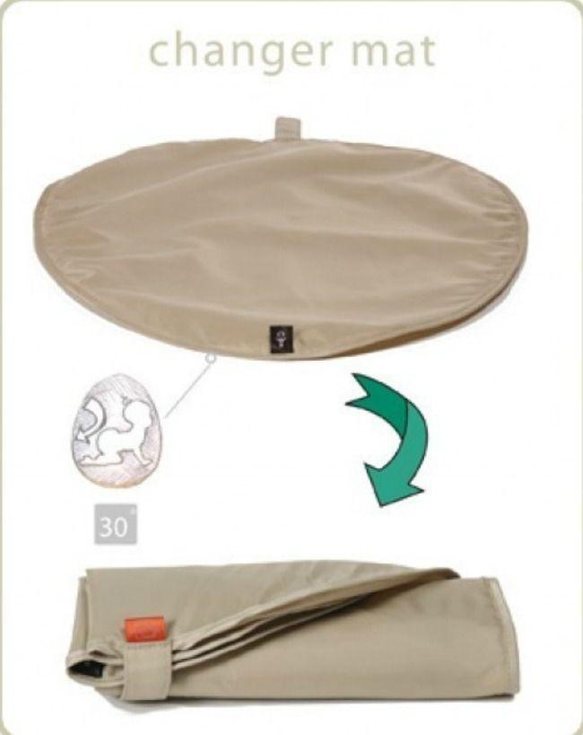 El bolso cambiador Mirano de la marca inglesa PacaPod es único, con su sistema 3 en 1. Con su sistema de organización es perfecto, 2 bolsos extra e independientes. Uno para la alimentación (térmico) y otro para el cambiador, pañales y elementos de higiene. Su diseño es cómodo, actual y elegante, con incrustaciones de piel. Y la fácil limpieza de su material es una gran ventaja
