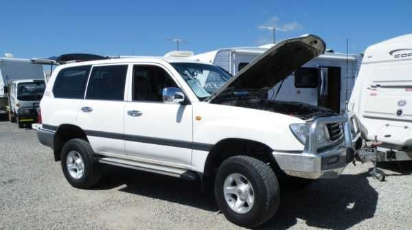 Toyota Landcruiser Wagon 8 seater....GXL.....100 Series.....Turbo Diesel......Auto.....includes CB Radio....Navman....electric windows....rear seats have been removed (can be easily put back) 235,044kms....Full service history.....recently serviced at 235029kms....Lift kit added....Great tow/family vehicle..3.5T towing capacity braked...Reg: WKY-033...Inspection Welcome....lot 118 Lacey Drive Aldinga Beach SA 5173.....PH: 08 71232612.....Aldinga Beach Motohomes MVD: 263585 $27,999.00 AUD