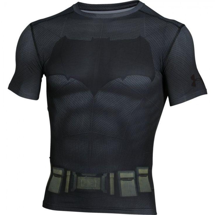 Pánské kompresní tričko Under Armour Batman Suit