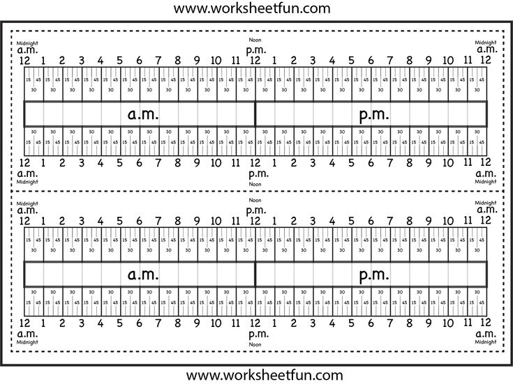 Time Worksheets » Time Worksheets 24 Hour Clock - Preschool and ...