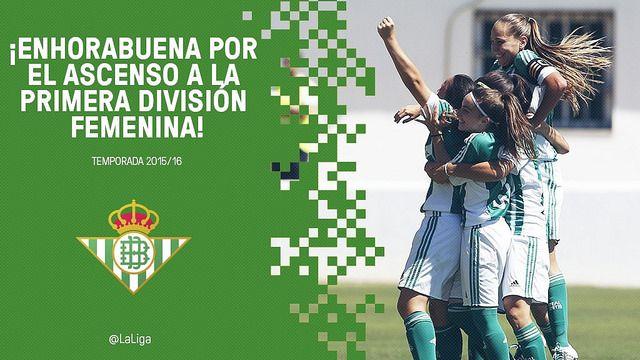 La UD Tacuense y el Real Betis Balompié Féminas, ascienden a Primera División | Football Manager All Star