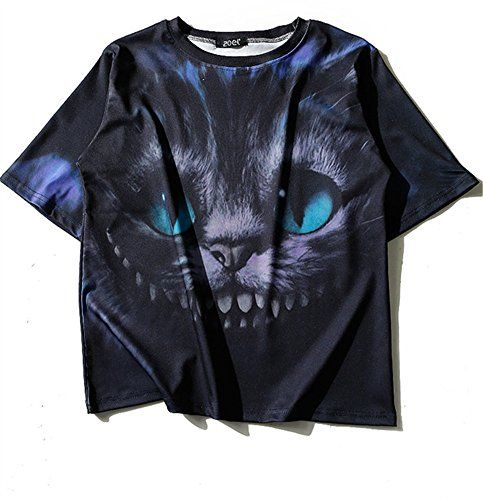 (シーファニー)Cfanny レディース Tシャツ 猫 プリント 半袖 トップス T3669 黒 Cfanny https://www.amazon.co.jp/dp/B06XDKWFBC/ref=cm_sw_r_pi_dp_x_rXj3ybAWZEBCR