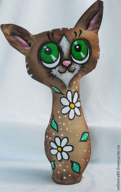 И снова кошки... - игрушка ручной работы,игрушка в подарок,игрушка,текстильная игрушка
