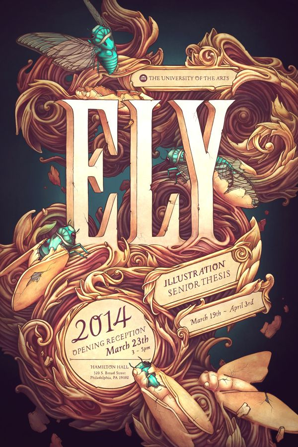 Ely Senior Thesis Poster on Behance