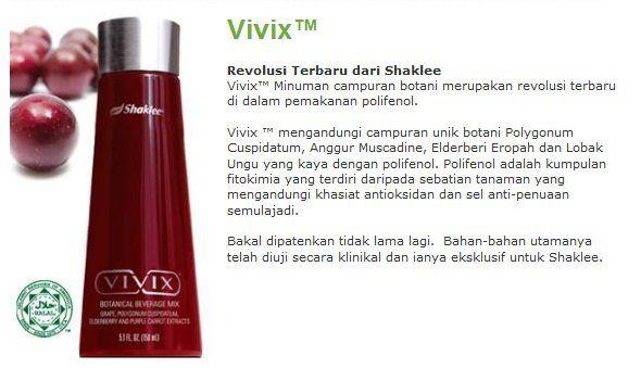 Vivix Anti Penuaan Semulajadi