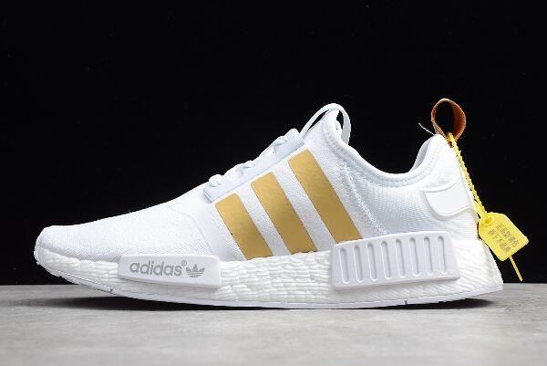 """adidas NMD XR1 """"Metallic Stripes"""" White"""