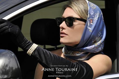 NAUTICAL SCARVES: A SPRING STAPLE   ANNE TOURAINE Paris™