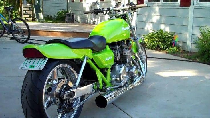 1977 Kawasaki KZ1000 Drag Bike IN HD