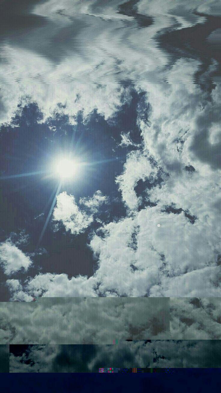 #glitch #sky