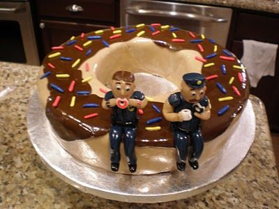Groom's cake idea for the po-po I'm going to marry! Ha!
