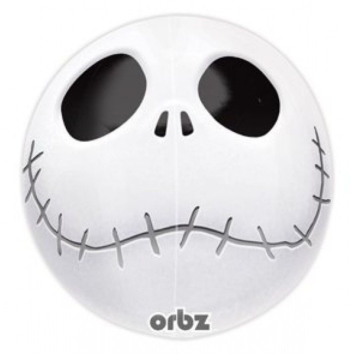 "JACK SKELLINGTON 16"" BALLOON Halloween Nightmare Before Christmas Skeleton Skull"