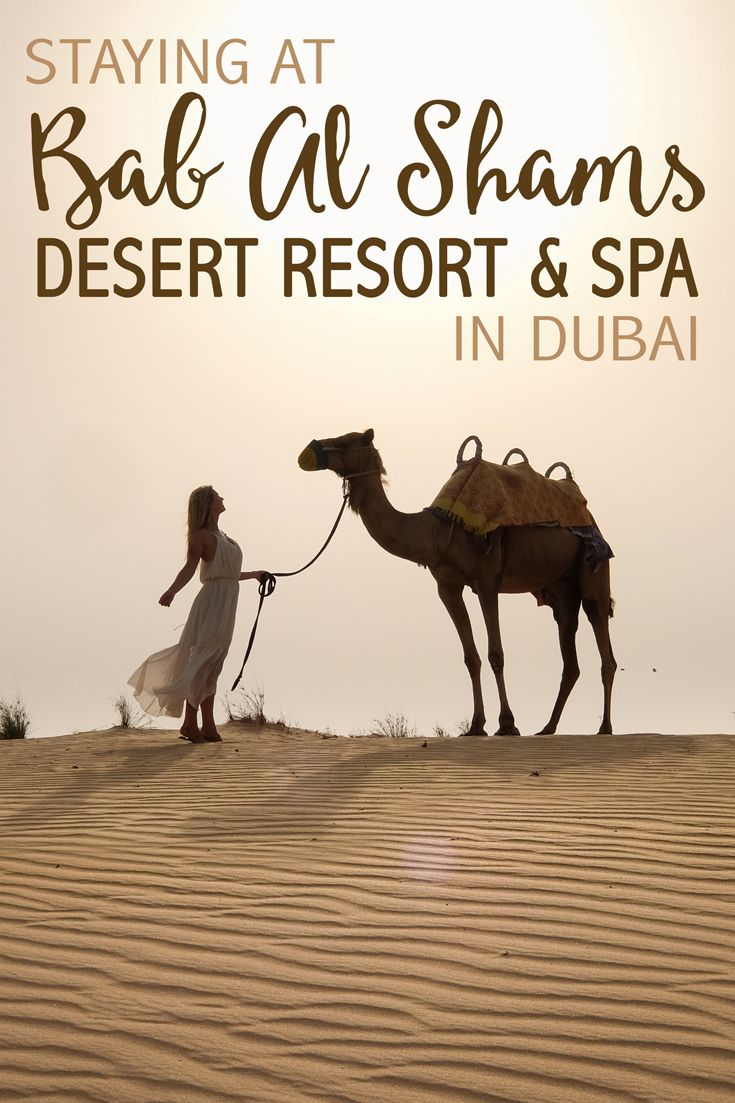 """Meaning """"getaway to the sun"""" in Arabic, the Bab Al Shams Desert Resort & Spa in Dubai is a five-star luxury desert resort. Set amid the sand dunes outside of Dubai, this top-notch resort is a true oasis."""