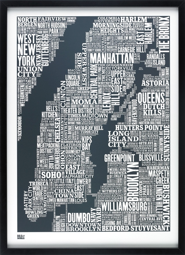 already loved the British Isle one; but NYC is even better... Thank you bold&noble! (would love to see it in red as well....)