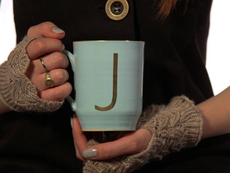 Große Kaffee Becher, erste Tasse Tee Tasse, Keramiktasse, Kaffee-Liebhaber, personalisierte Becher, Custom Mug, Monogramm Krug, seine und ihre Becher von HadasShallom auf Etsy https://www.etsy.com/de/listing/267598350/grosse-kaffee-becher-erste-tasse-tee