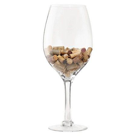 Oversized Wine Glass Cork Holder WINE ENTHUSIAST : Target