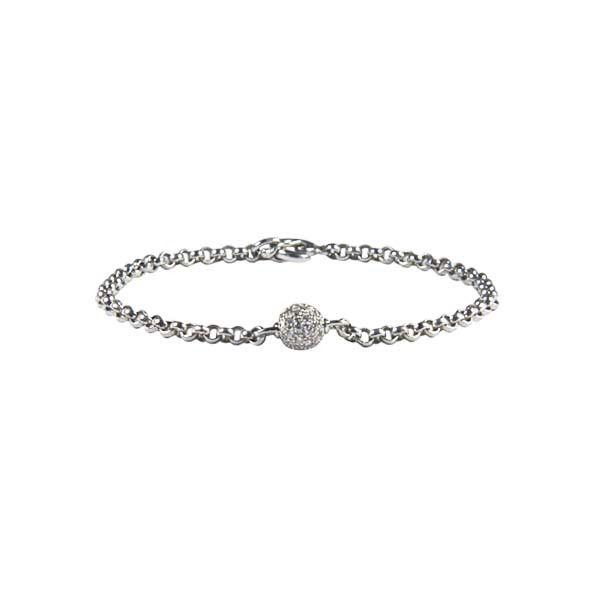 Eden Bracelet / White Diamonds Pave