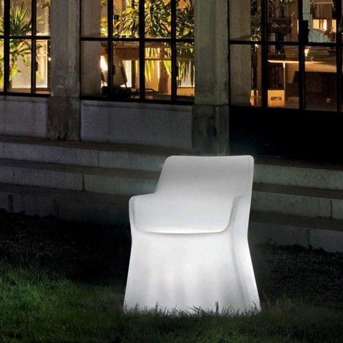 Phantom Translucent Chair / Corded Light By Domitalia