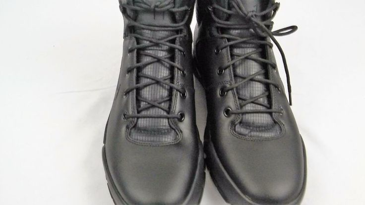 New NIKE AIR NEVIST-6 Size 11 Black Mens Swat Boots Shoes tactical #Nike #AthleticSneakers