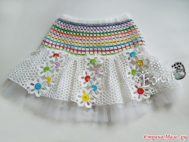 conjunto niña hecho a crochet con flores patrones01