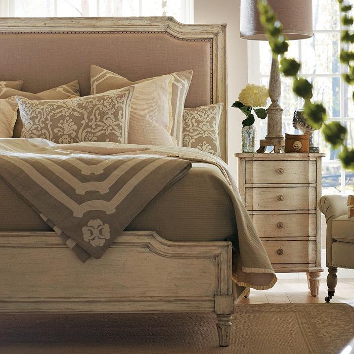 Stanley furniture european cottage bed bedroom pinterest bedrooms cottages and bedroom sets for Stanley furniture bedroom set