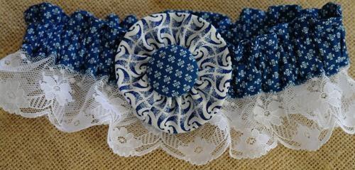 Leteisi / Shweshwe garter