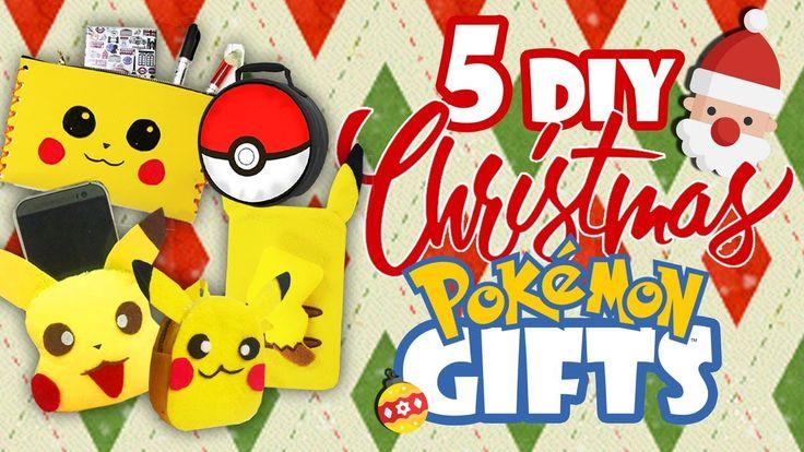 DIY Christmas Pokemon Gift Set!! (Super easy and inexpensive presents)