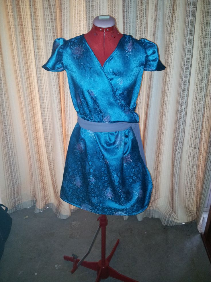 Faux Wrap Dress {Made by Hour Glass Sewing}