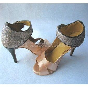 http://www.ttdancewear.com/latin-salsa-shoes/Free-Shipping-Wholesale-Tan-Satin-Glitter-Latin-Salsa-Ballroom-Dance-Shoes