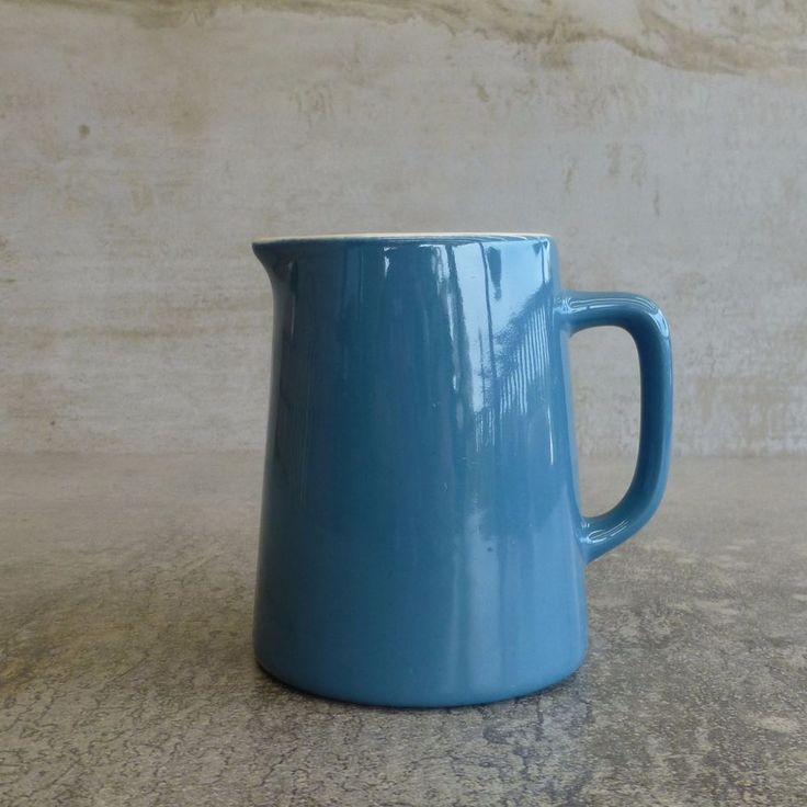 Vintage Crown Lynn Pottery small jug # 715 - 01 Made in New Zealand