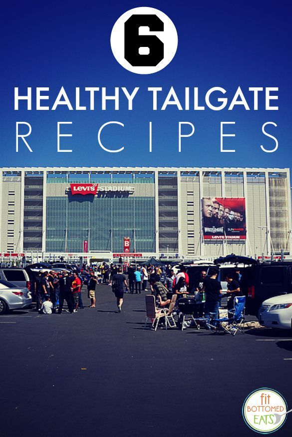 It is SO possible to tailgate healthfully with these six recipes! | Fit Bottomed Eats