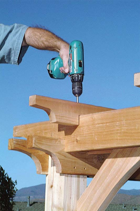 How to Build a Backyard Pergola: Simple DIY Woodworking Project