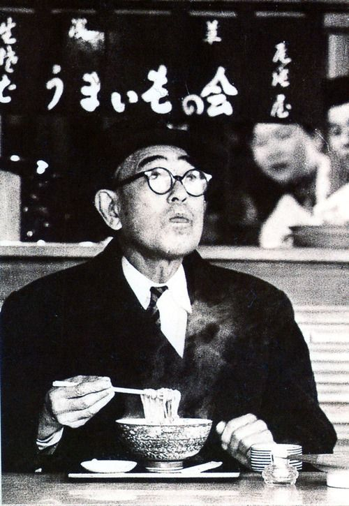"""Japanese author, Kafu NAGAI (1879~1959) """"Knowing this to be a worthless life to live, why do I keep living on? Because this life contains something called beauty"""""""