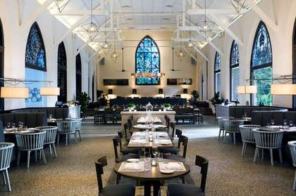 Love the idea of converting a church into a bar/restaurant - a nice old bluestone one would be great :)