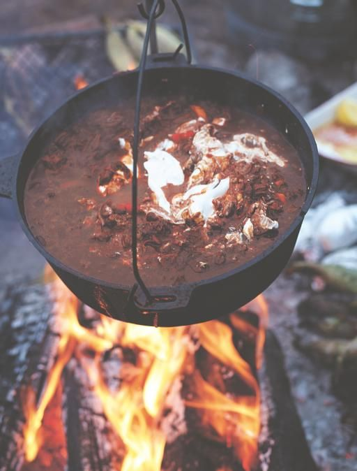This chilli con carne uses brisket to give amazing texture and wonderful depth of flavour, plus there's a secret special ingredient, coffee!