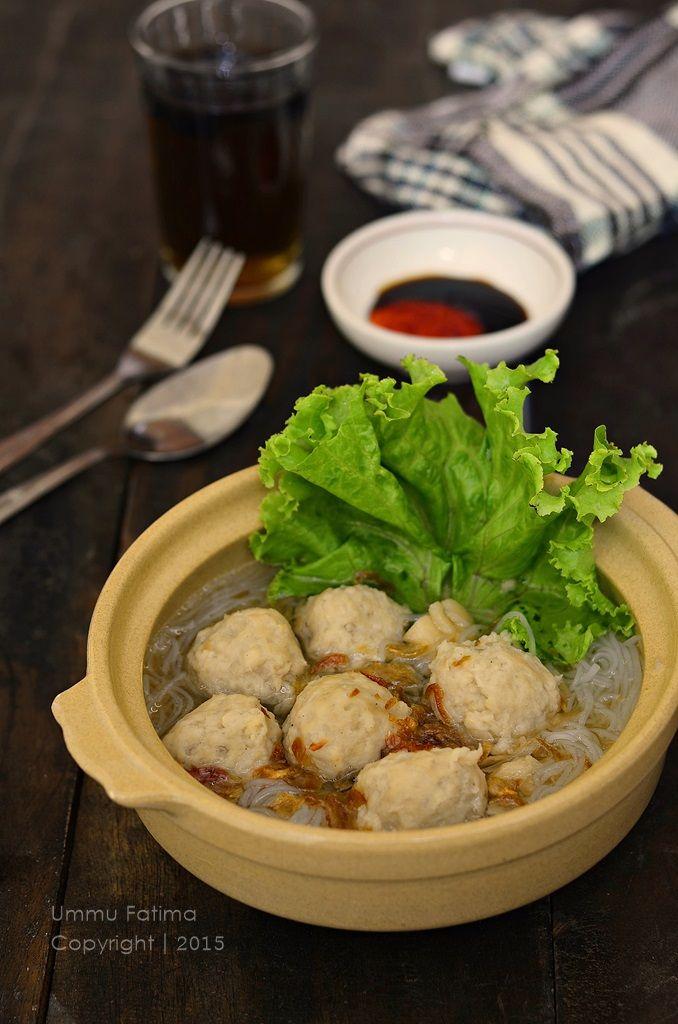 Simply Cooking and Baking...: Bakso Ayam Tempe Jamur Tiram