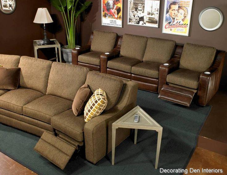 Small Media Room  | media_room_furniture_portland_or_med