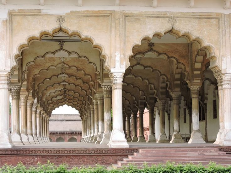 Hall of Public Audience, Red Fort, Agra, India