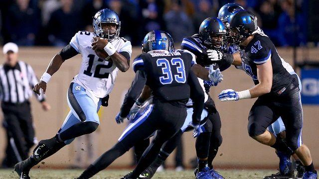 North Carolina Tar Heels vs. Duke Blue Devils, Thursday Week 11, College Football Betting, Las Vegas Odds, Picks, Prediction