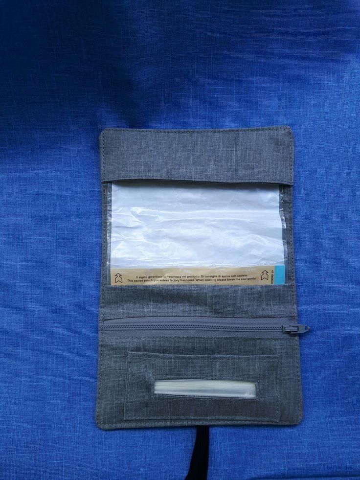 Portatabacco in cotone cerato