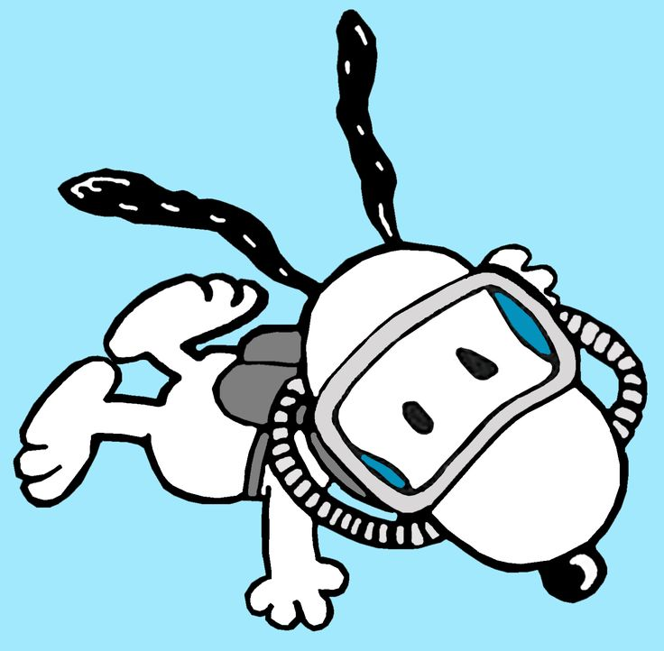snoopy swimming - Google Search