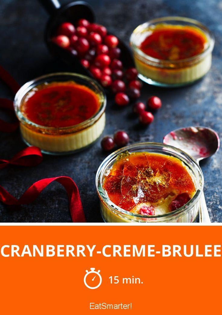 Cranberry-Creme-Brulee   http://eatsmarter.de/rezepte/cranberry-creme-brulee