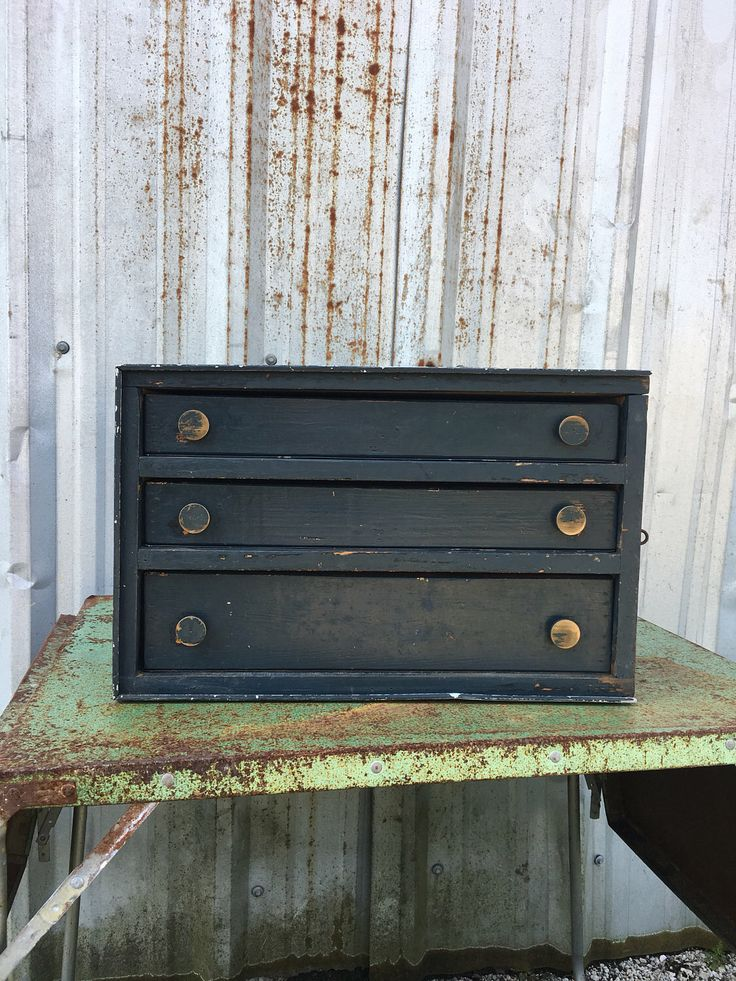 A personal favorite from my Etsy shop https://www.etsy.com/listing/523053837/machinist-tool-box Machinist Tool Box Vintage