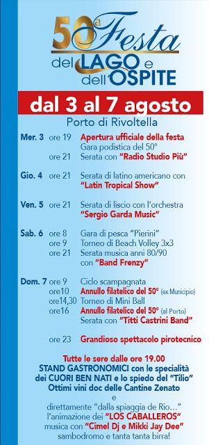 Festa del Lago e dell'Ospite da 3 al 7 agosto Rivoltella sul Garda (BS)