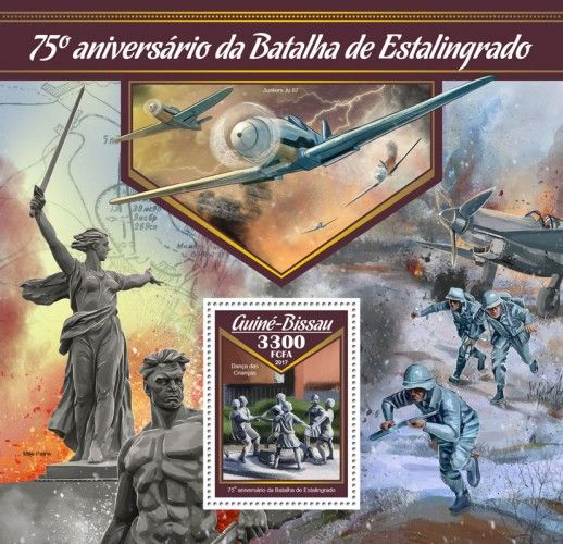 GB17005b 75th anniversary of the battle of Stalingrad (Children's Khorovod)