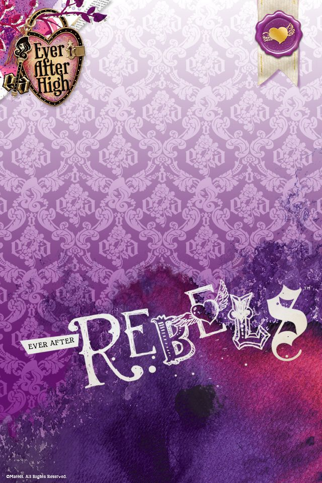 Ever after high rebel backgroundHigh Parties, Birthday Parties, Brylee Birthday, High Dolls, Rebel Wallpapers, Parties Ideas, Eah Wallpapers, Dolls Things, Ever After High Rebels